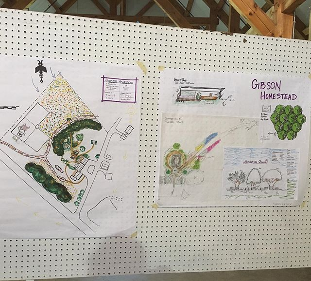 Thanks @resiliencehub for letting our homestead be the final design project for this year's #permaculture design course! #permaculturedesign #newperspectives #mainefarms #growyourown #growfoodnotlawns #maine #farmlife #earthcare #peoplecare #fairshare #ethicalfarming #regenerativeagriculture