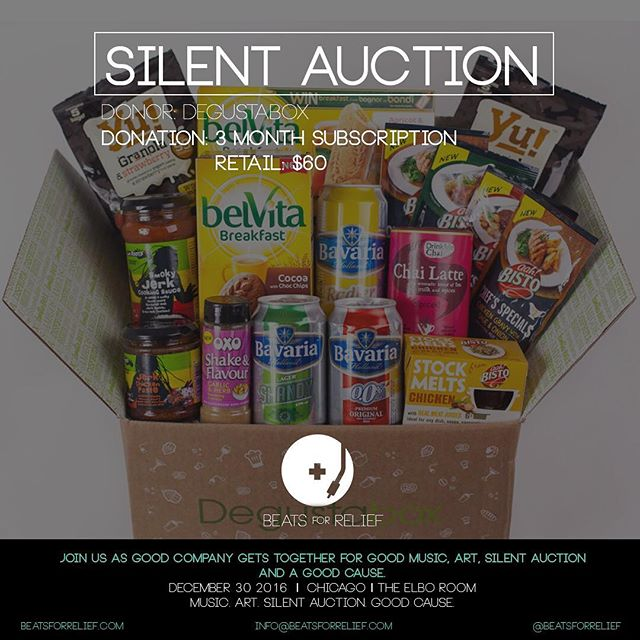 Getting hungry looking at this @degustabox donation! You can win 3 months of all sorts of goodies!! #beatsforrelief