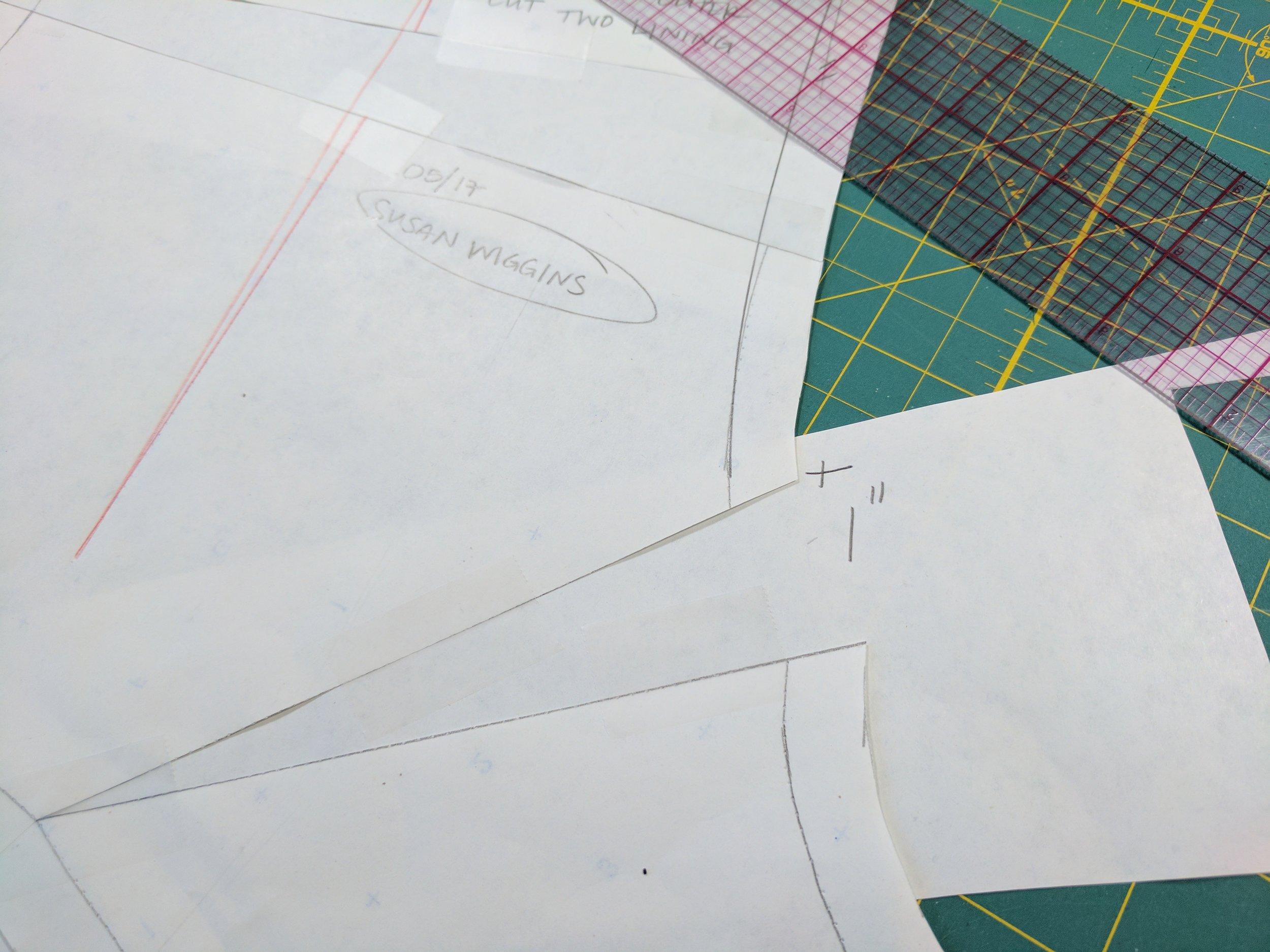 Gee Betty Designs Hood Draft