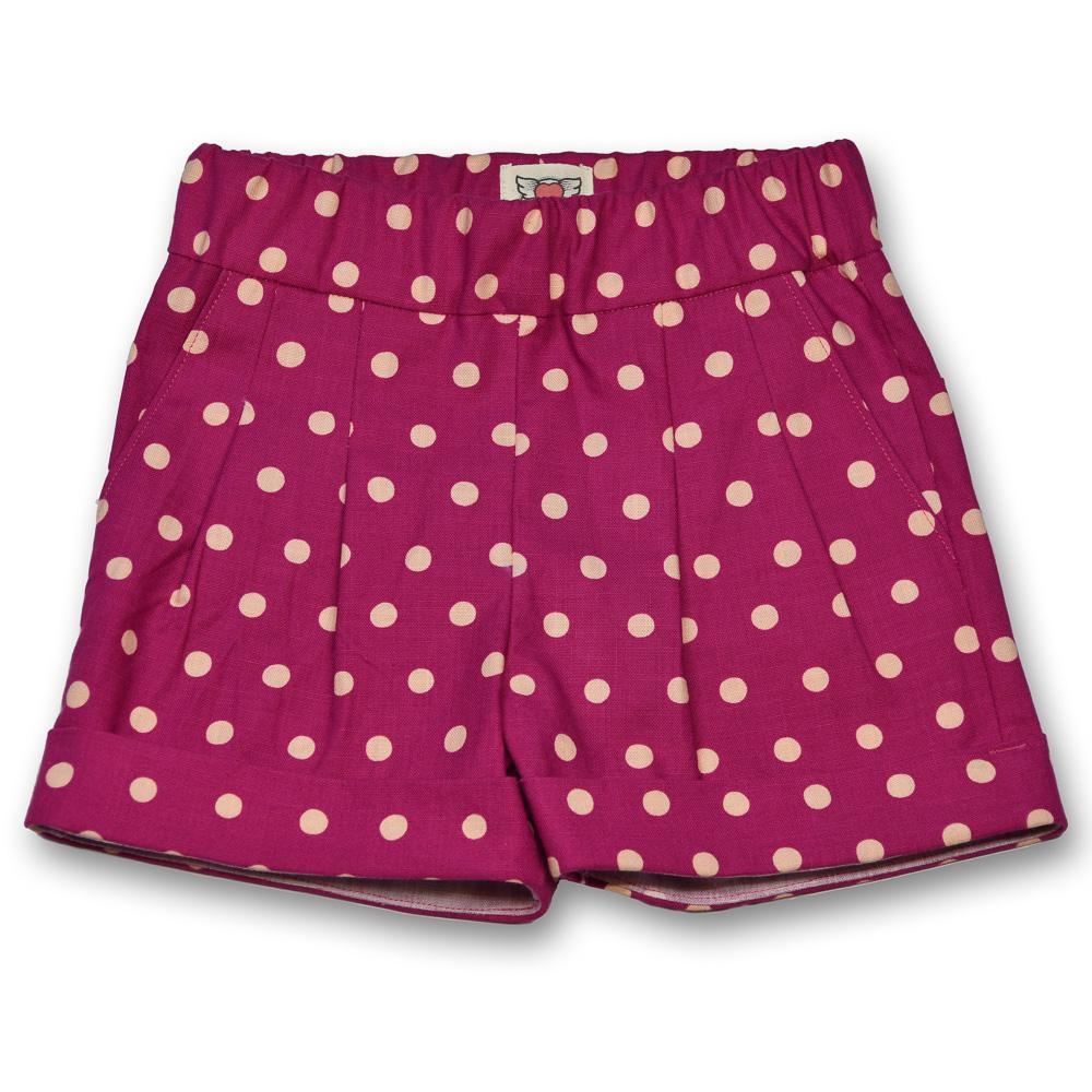 gee betty shorts polka dotty