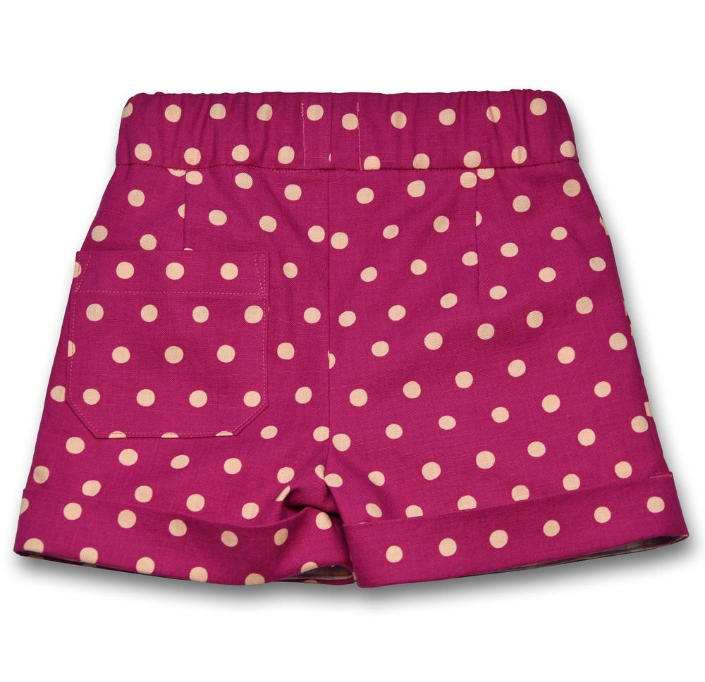 polka dotty shorts gee betty