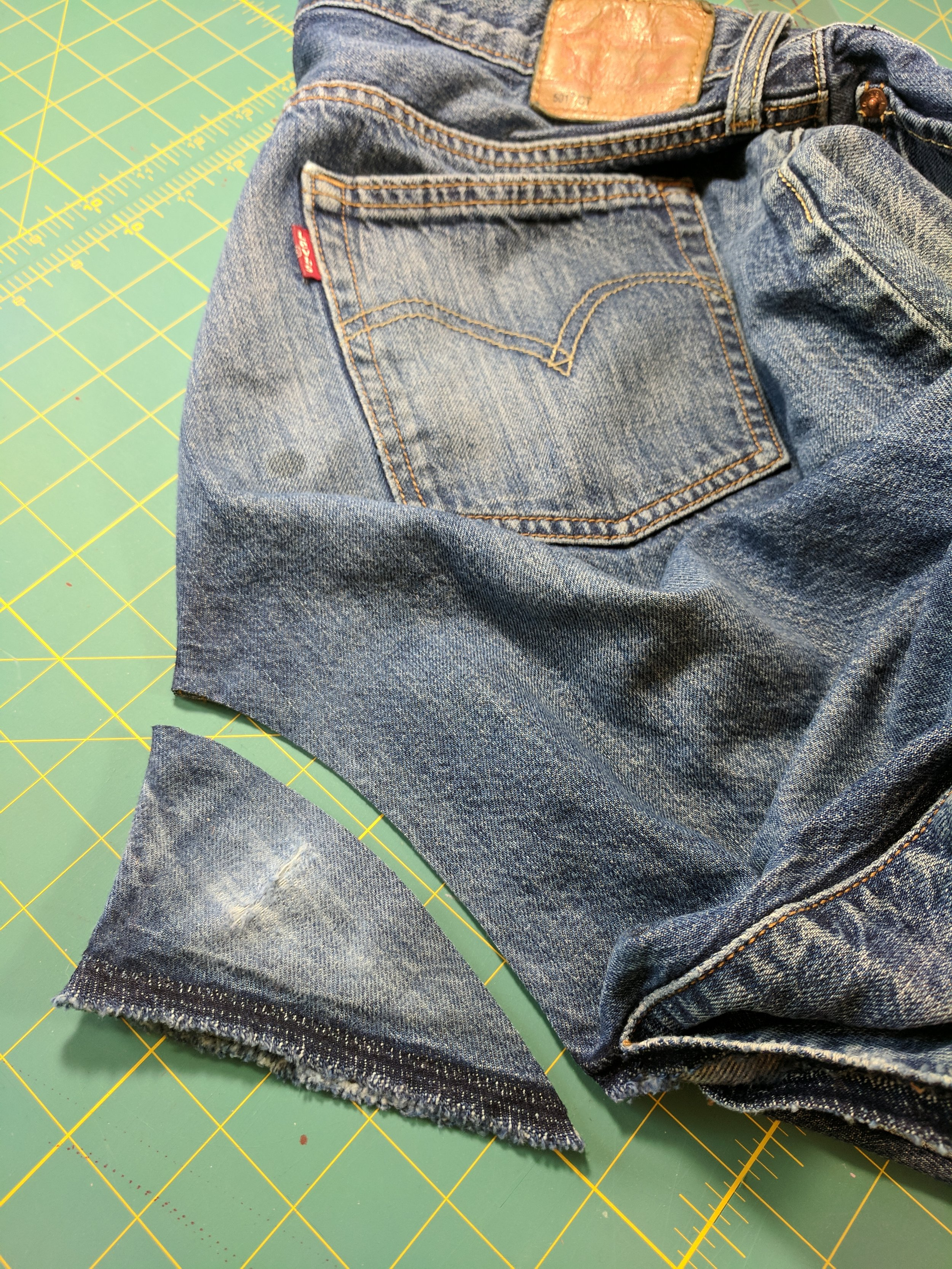 jeans gusset