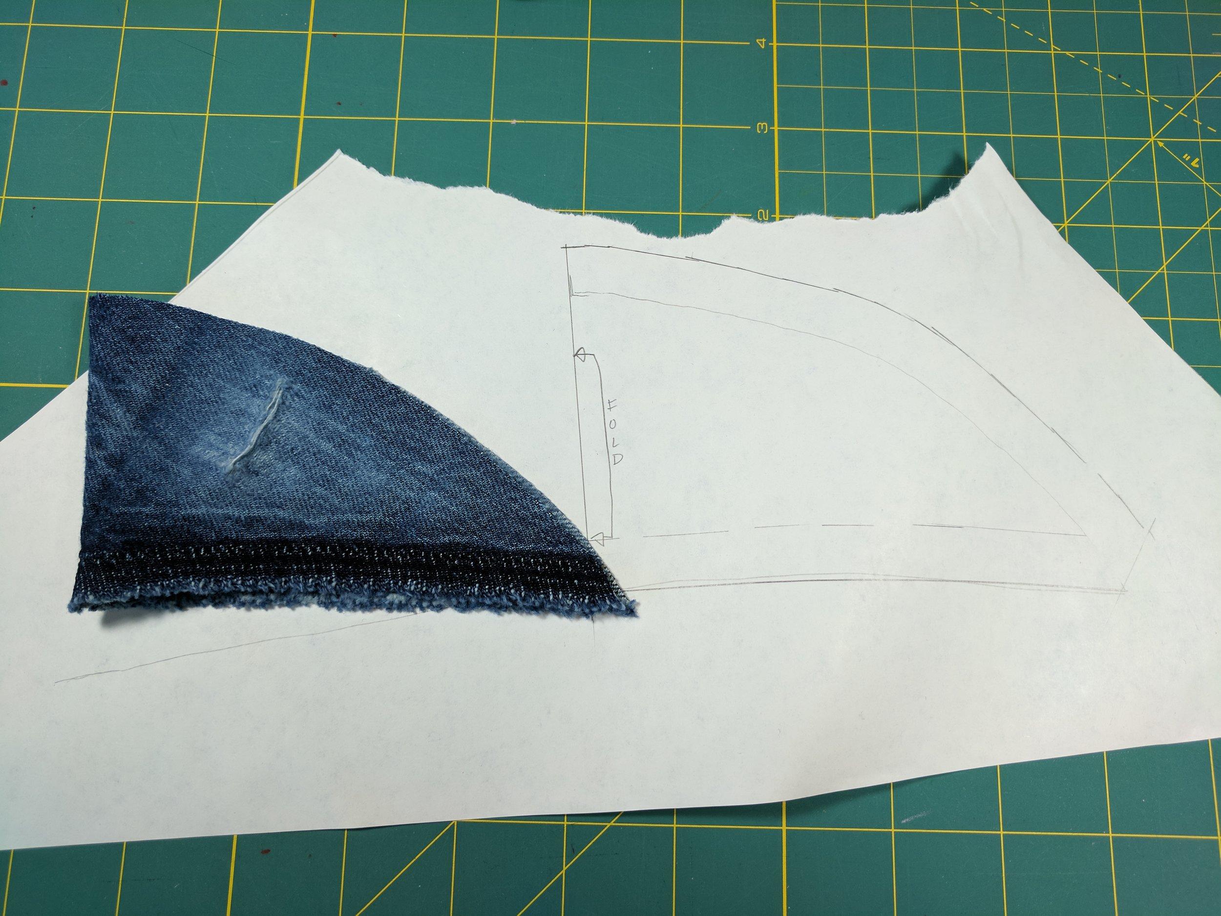 jeans crotch gusset