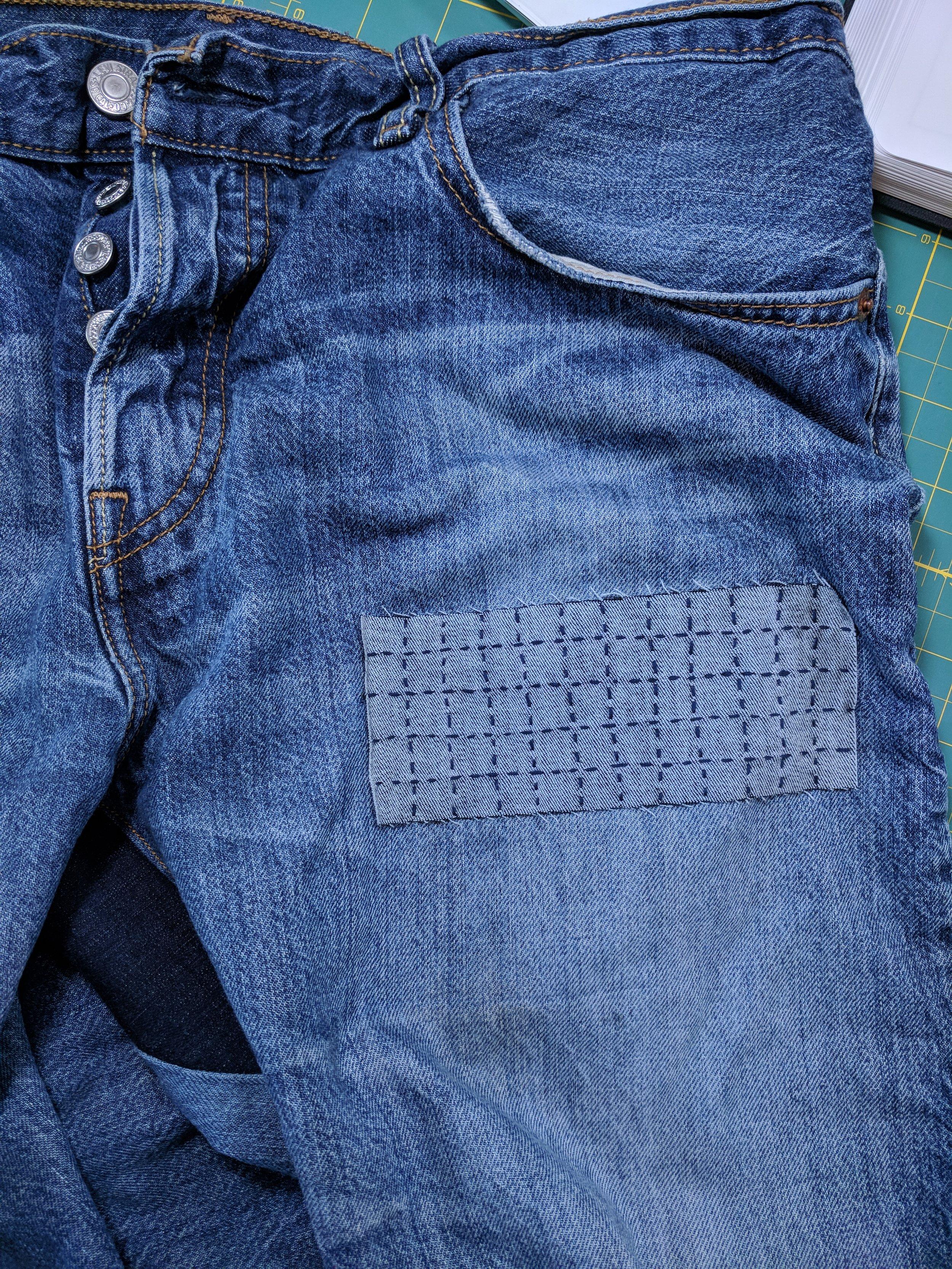 gee betty jeans repair