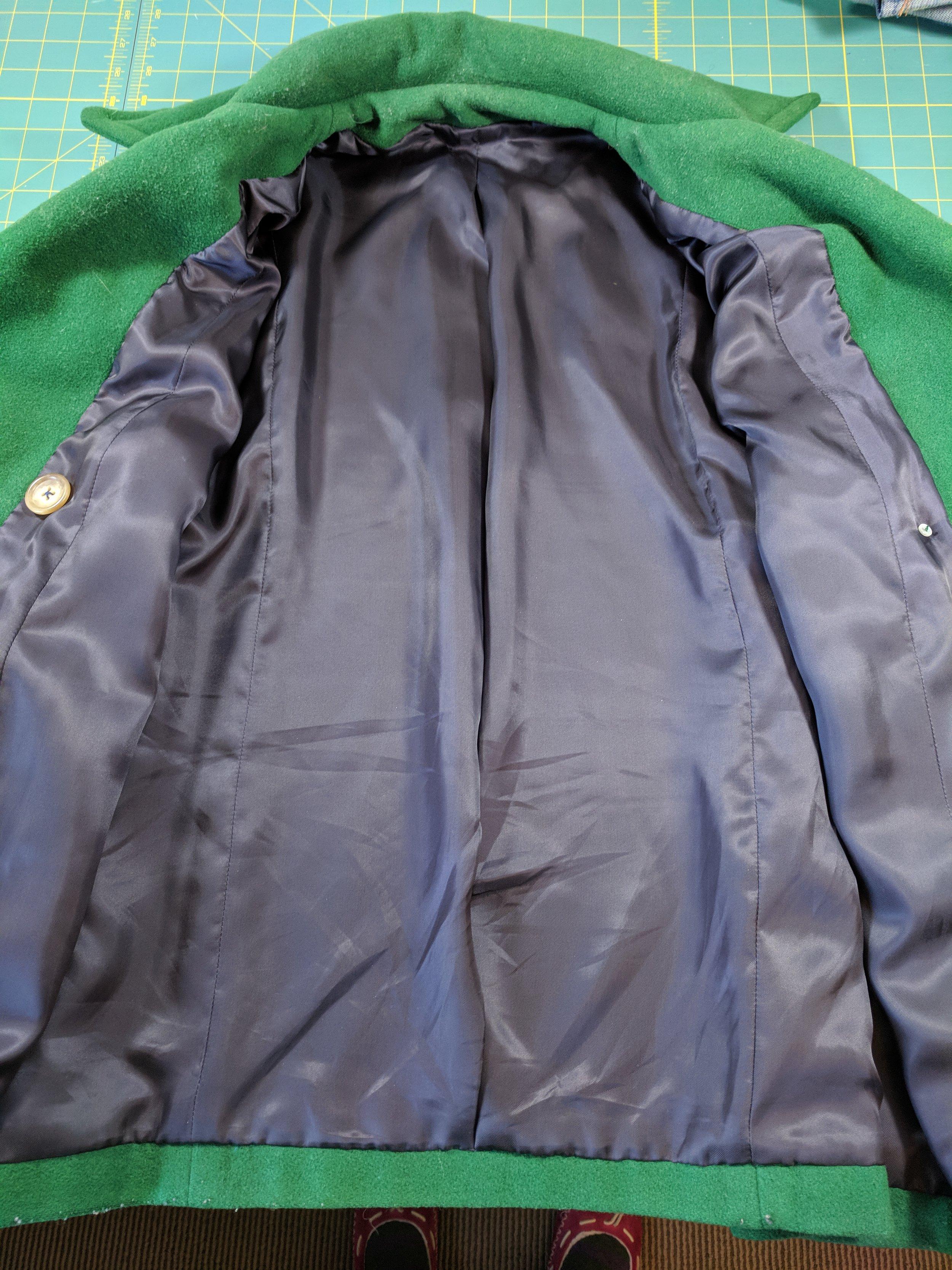 coat lining remake