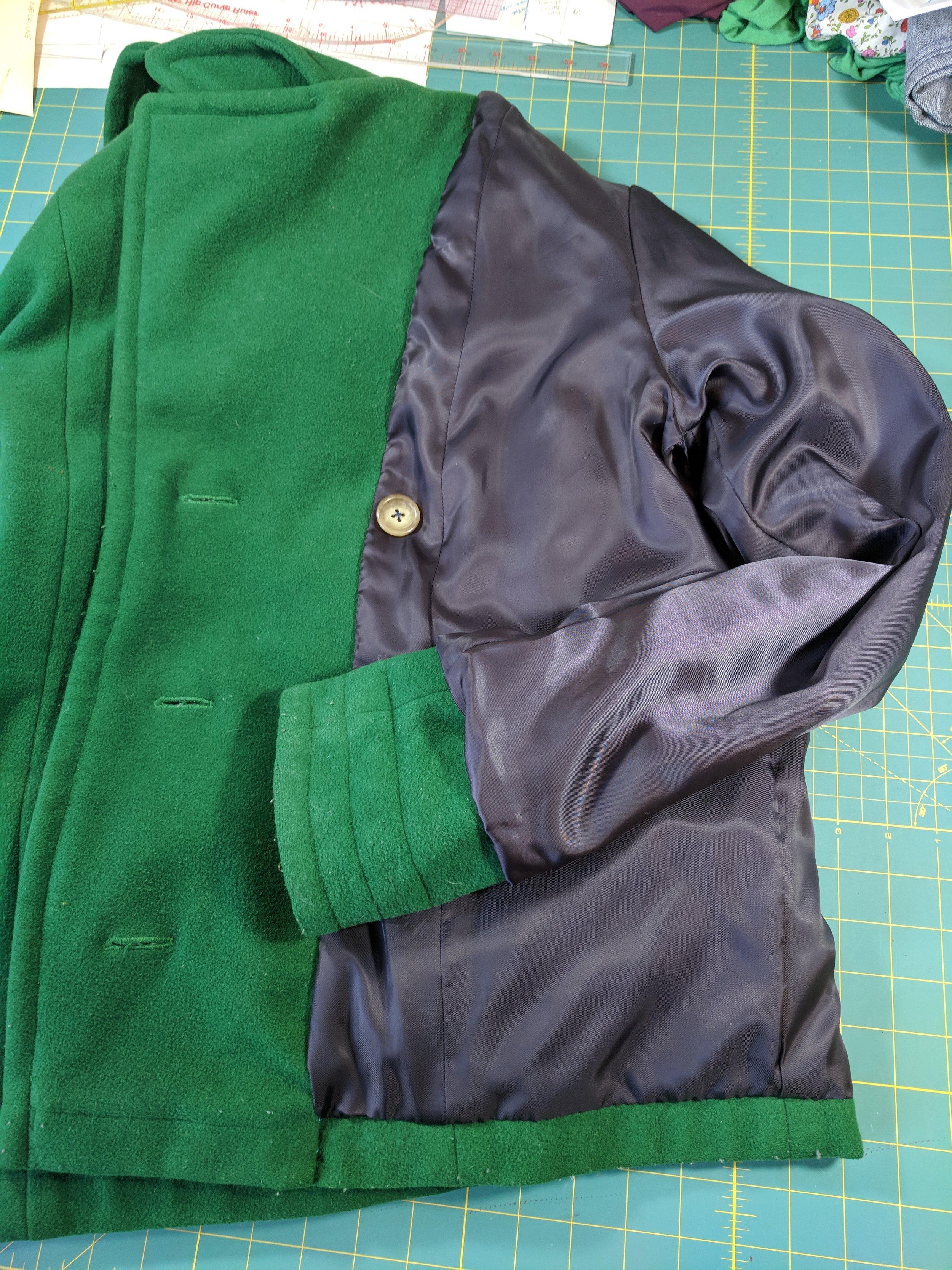 repair coat lining gee betty designs