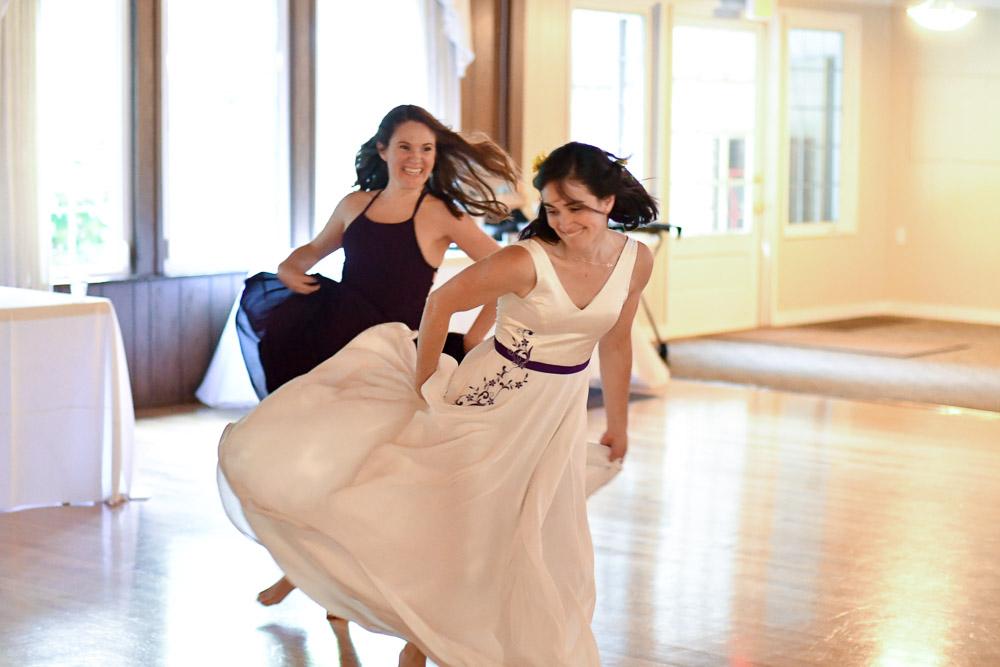 wedding dress purple gee betty