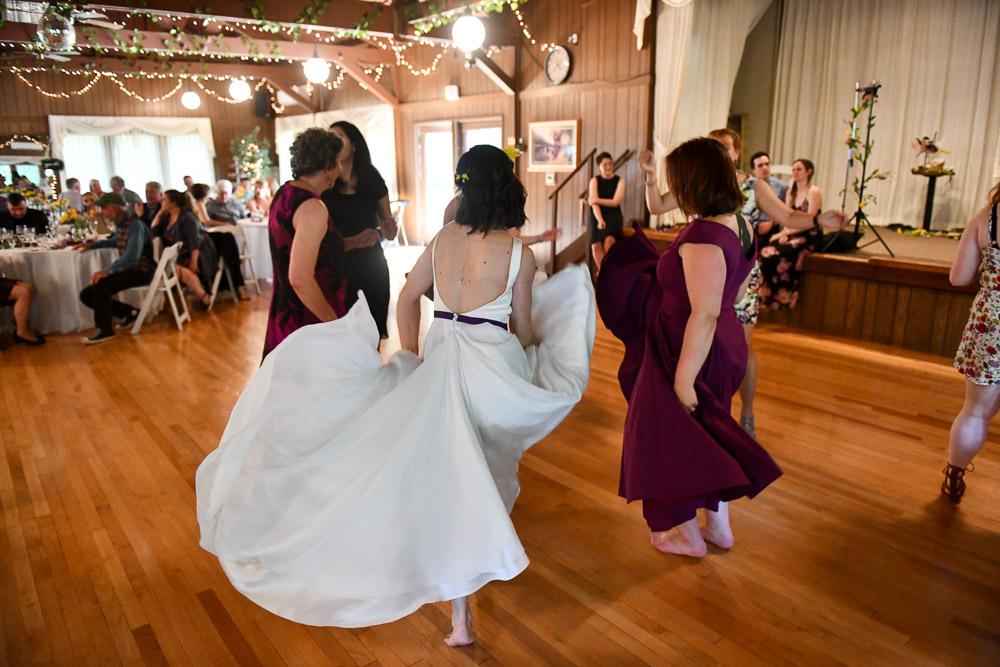 deep v backless wedding dress