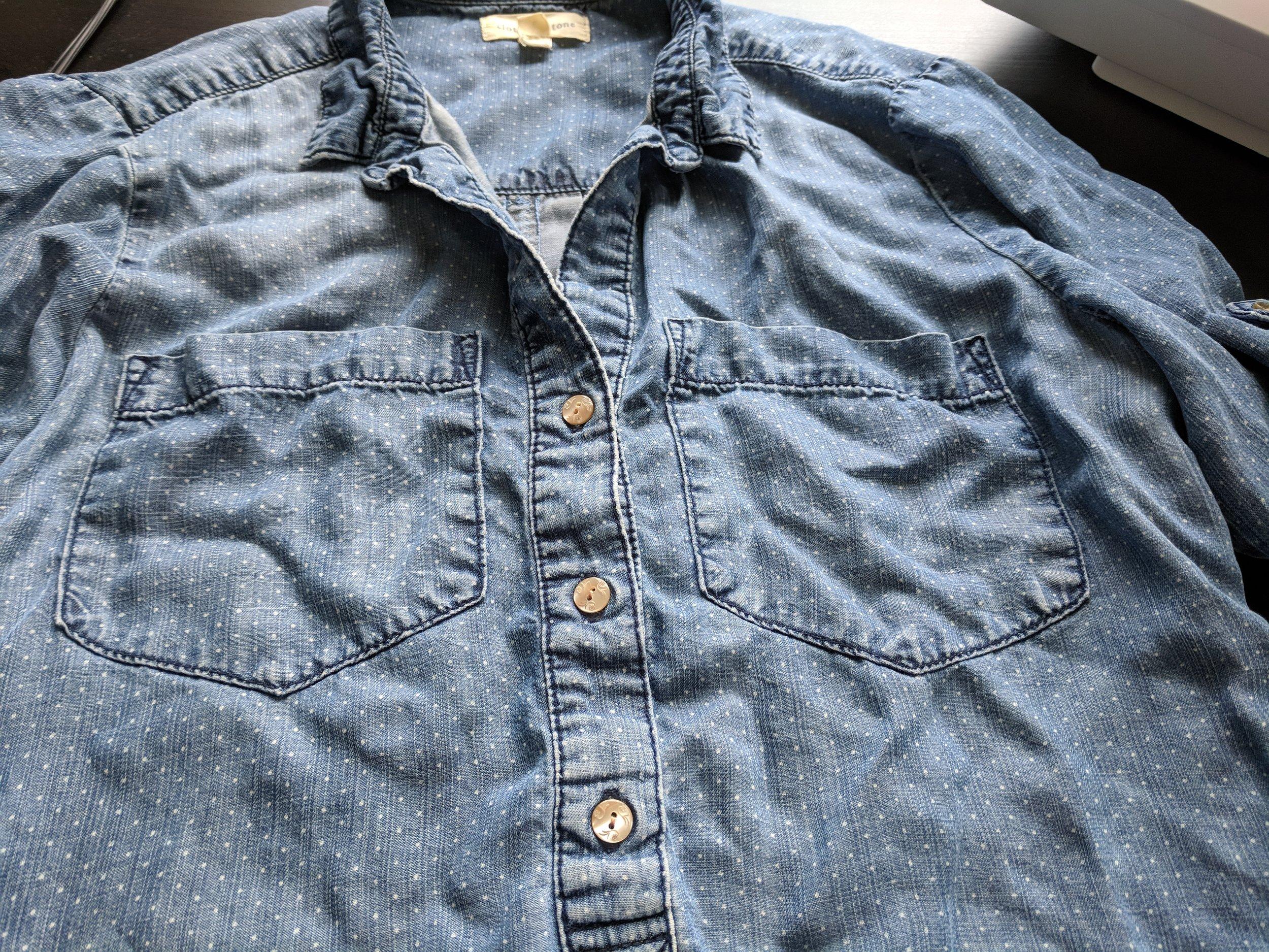 shirt repair