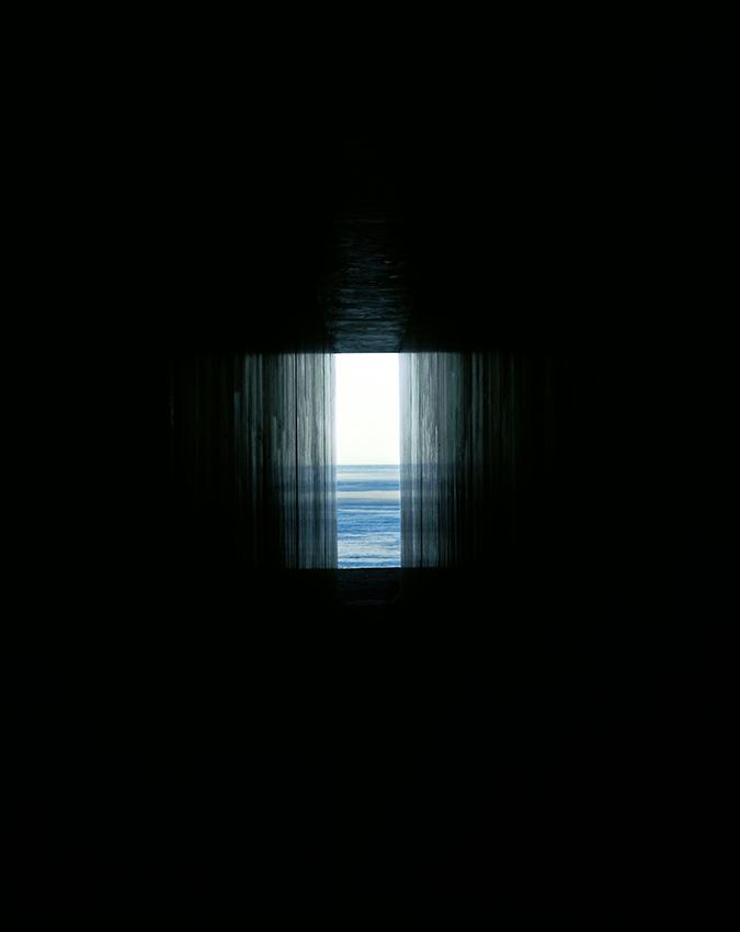 隧道からの眺め。