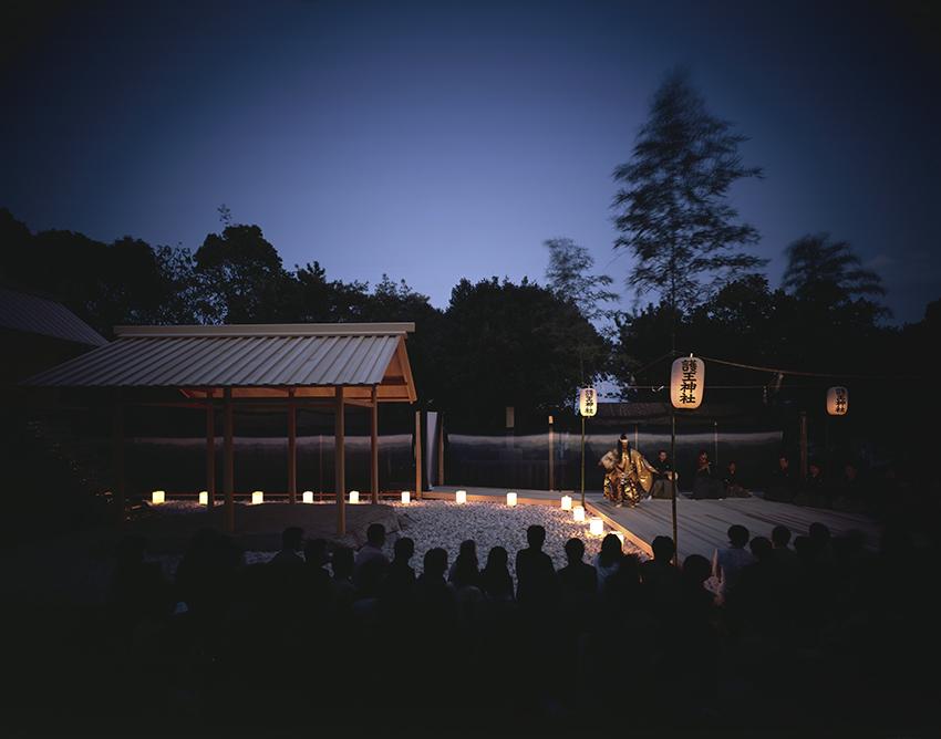 Yashima, Go-oh Shrine, Naoshima, 2002