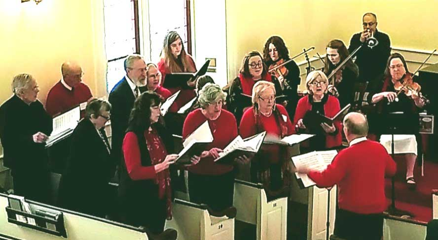 Cantate Deo Christmas Eve 2017