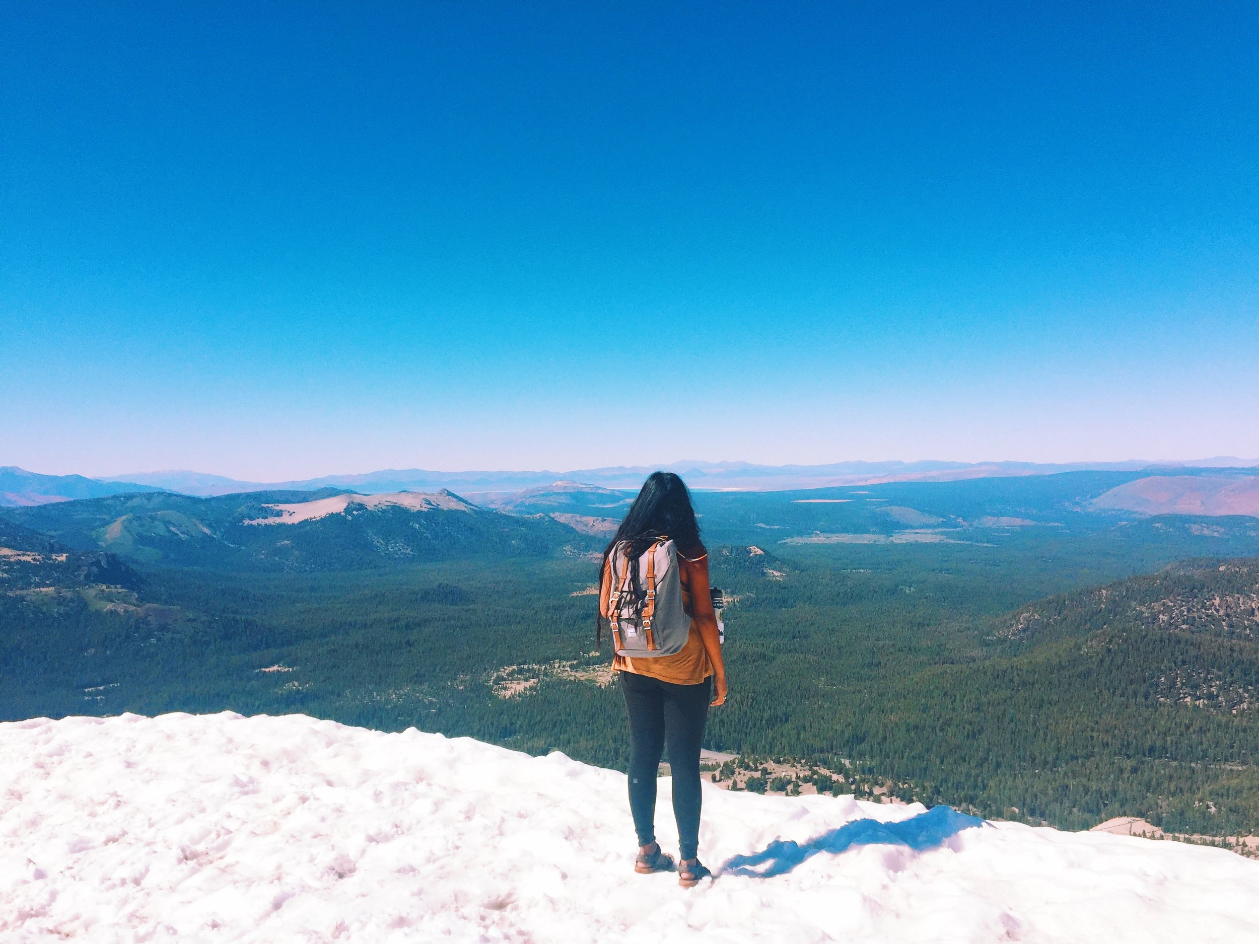 Top of Summit at Mammoth Mountain