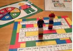 LEGO Addition / Subtraction Game Contributed by CATT Member Valerie Cho