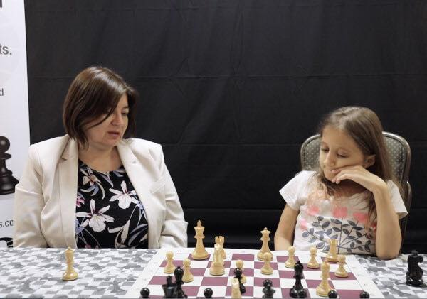 WIM Beatriz Marinello with Anna MIller at the World Junior Championship for the Disabled