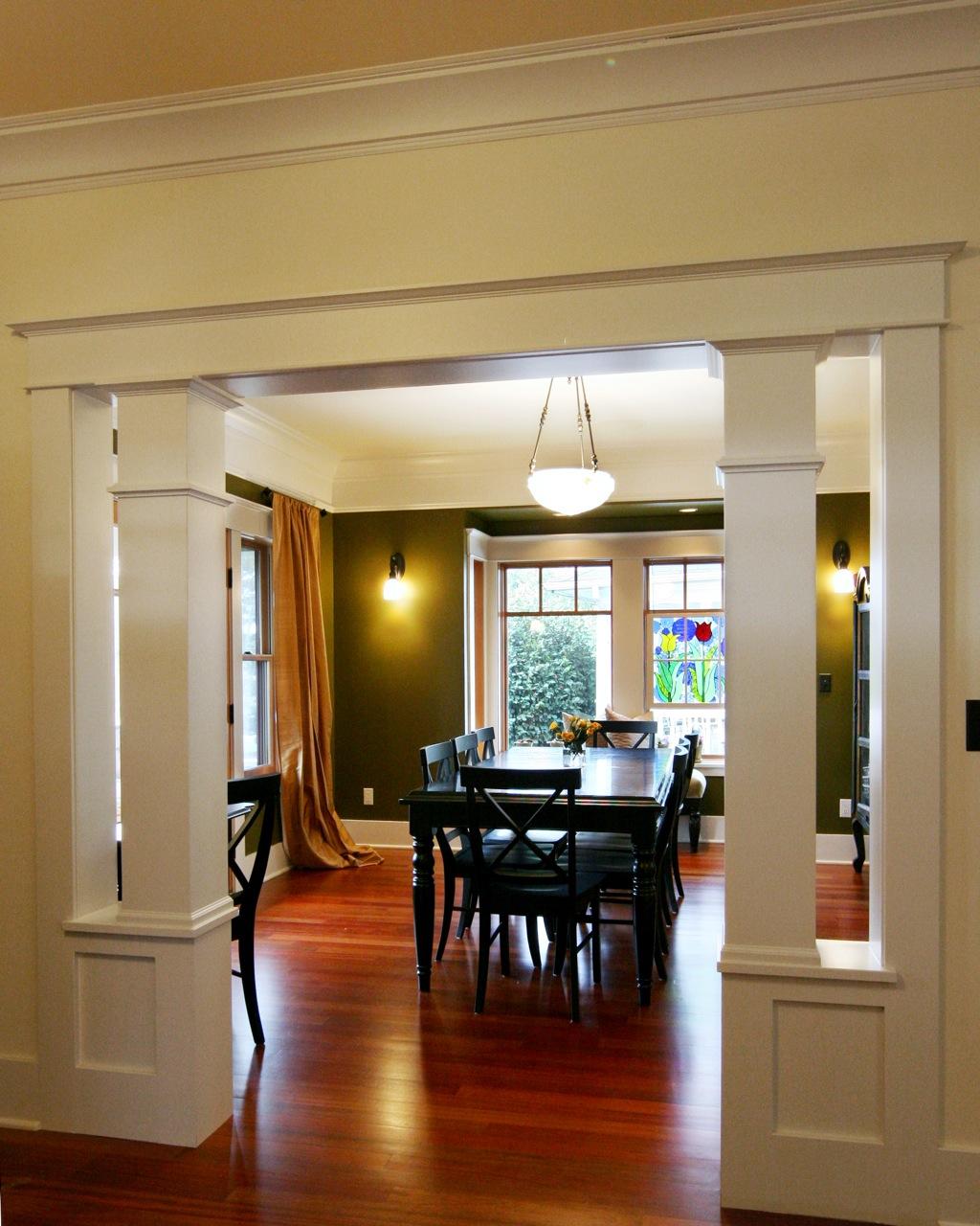 Greenlake Custom Home Dining Room Entry.jpg