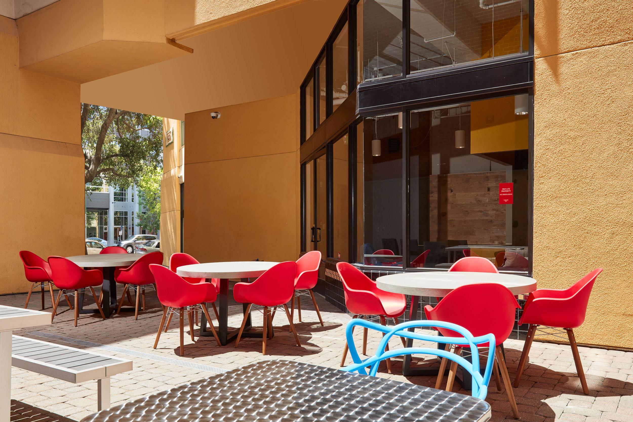 Allston - Courtyard