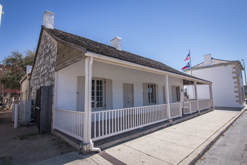 Casa Navarro, new National Historic Landmark, San Antonio. Photo from Texas Historical Commission.