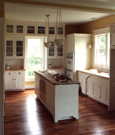 Bacchus-Carson House, Frisco, Texas - Kitchen renovation in historic house.