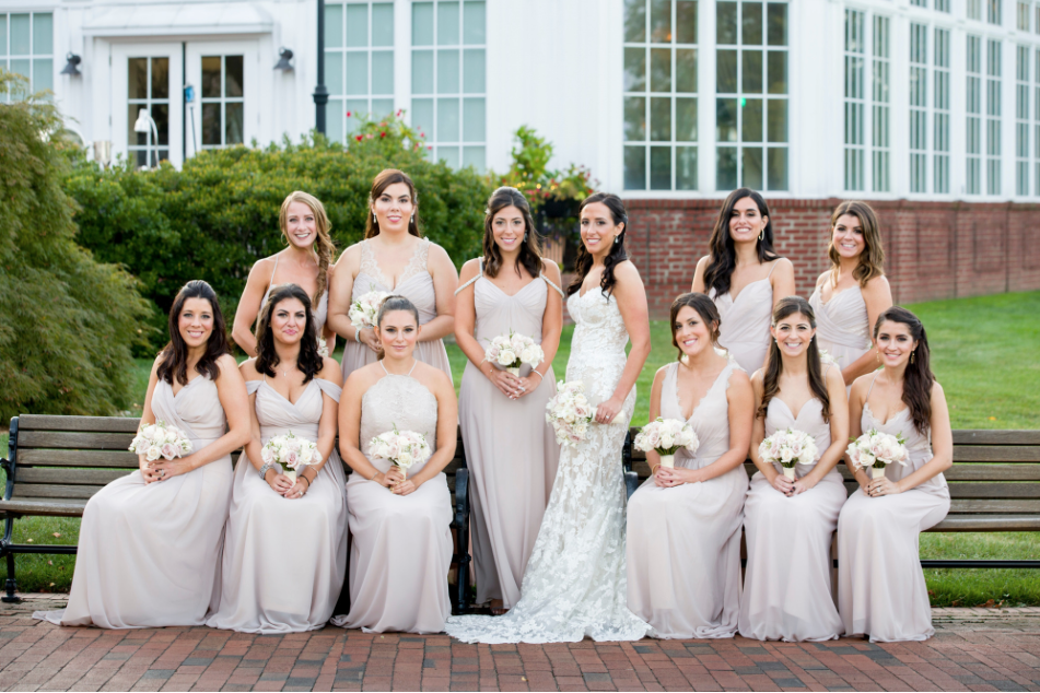 bridal party - glam squad!