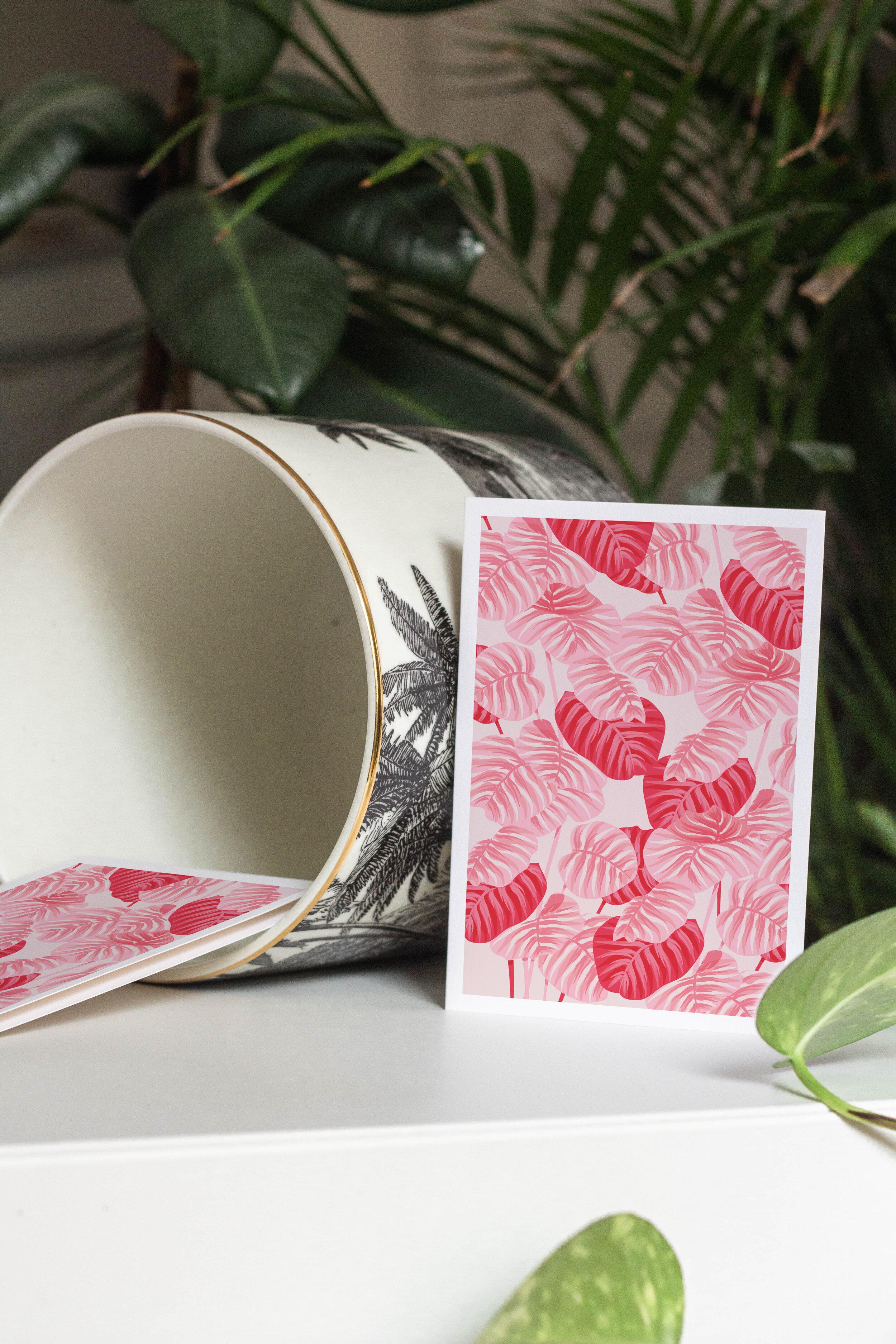 carte-postale-plante-rose