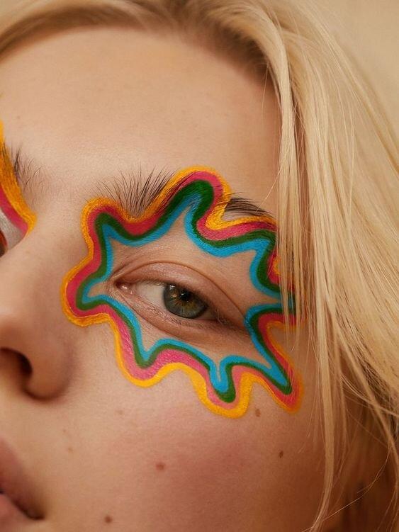 maquillage-rainbow