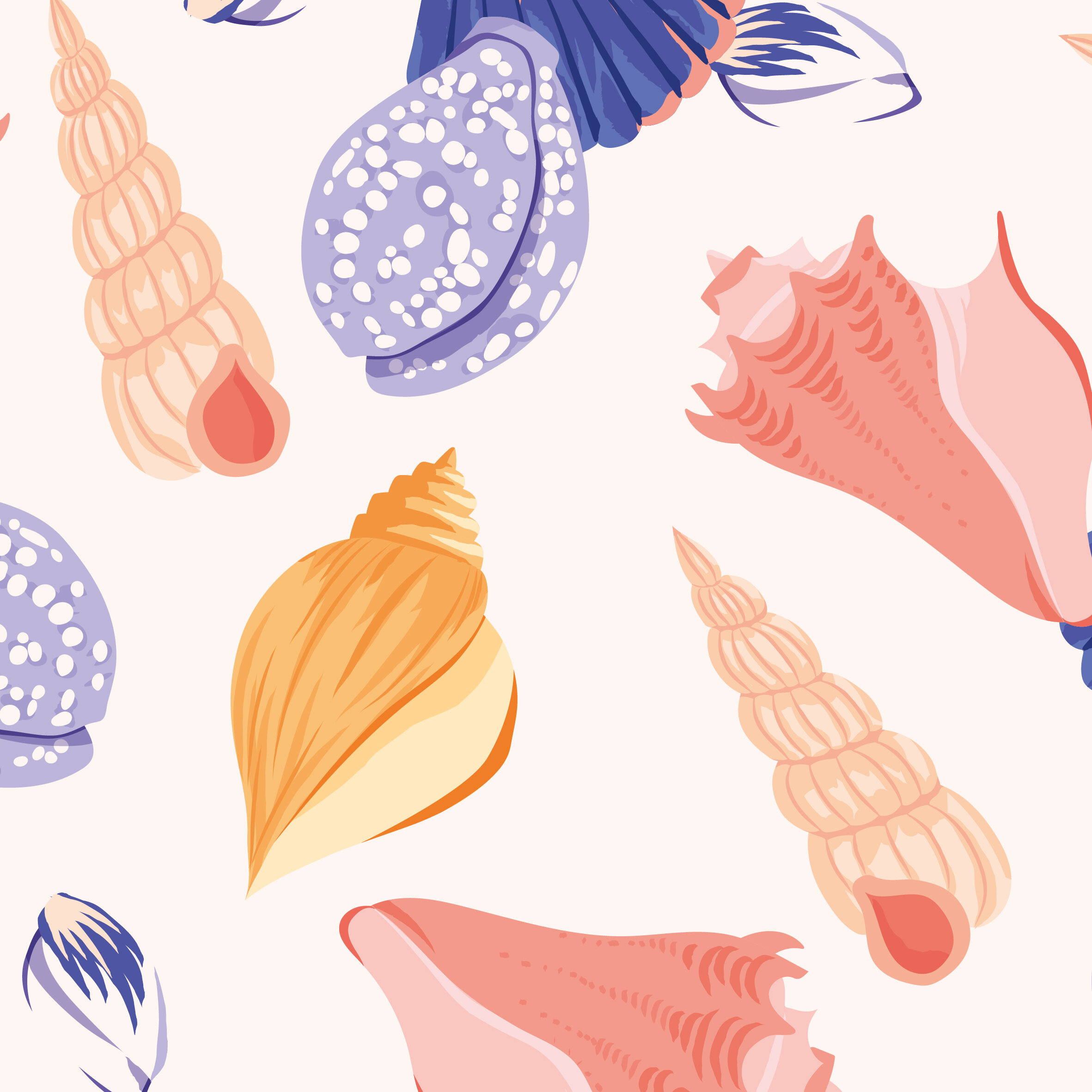 motif-mer-plage-coquillages