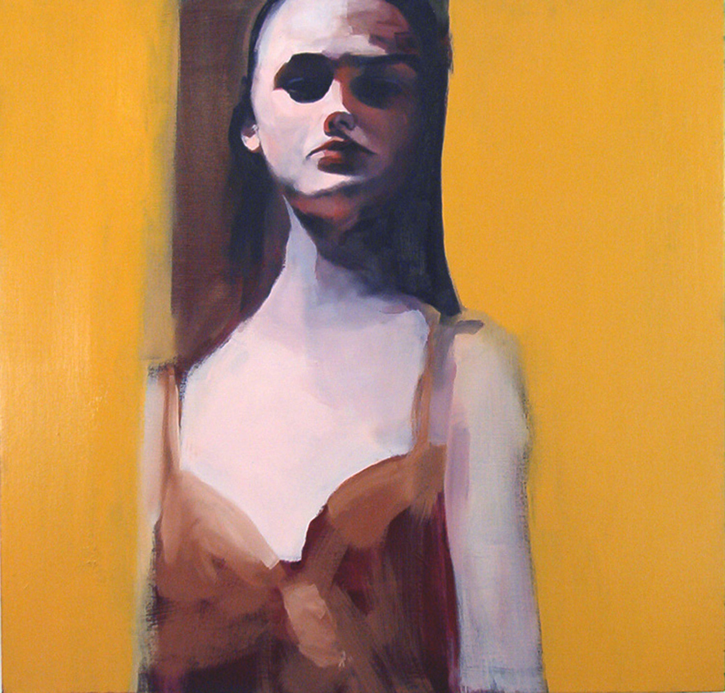 "untitled, 2005, oil on canvas, 37""x 37"""