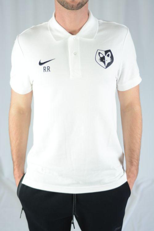 Poloshirt Weiss