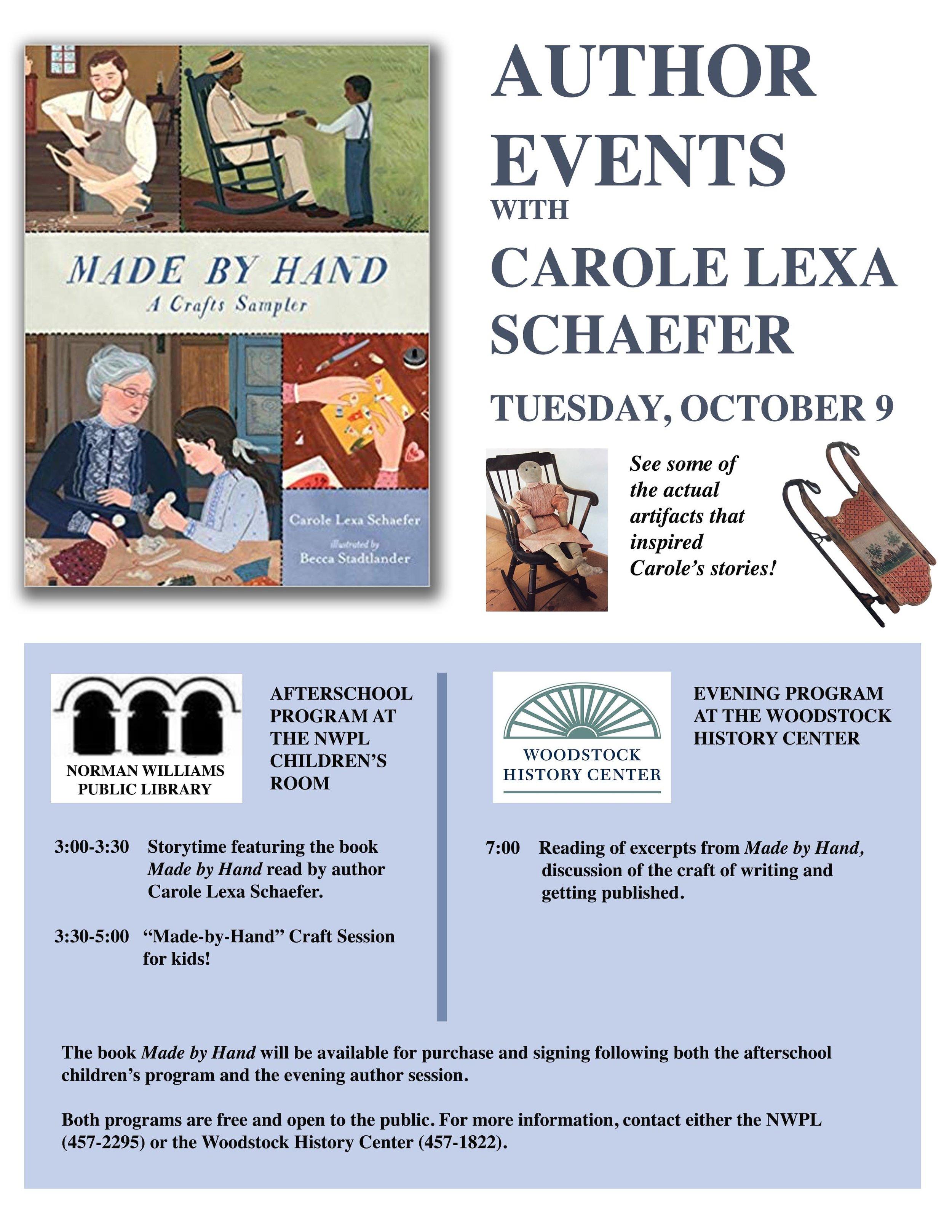 Author Carole Lexa Schaefer poster.jpg