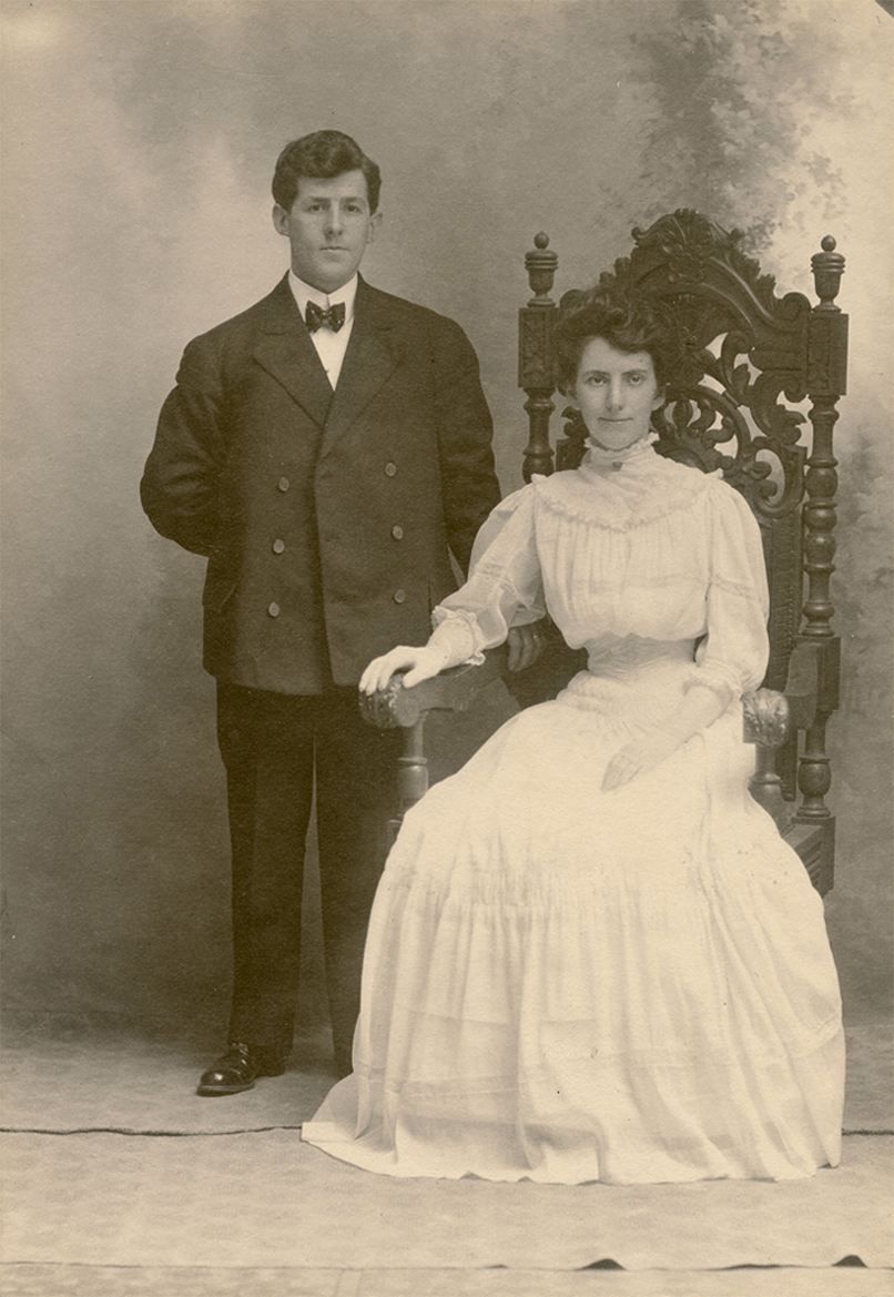 Robert and Elizabeth Buckman Wells