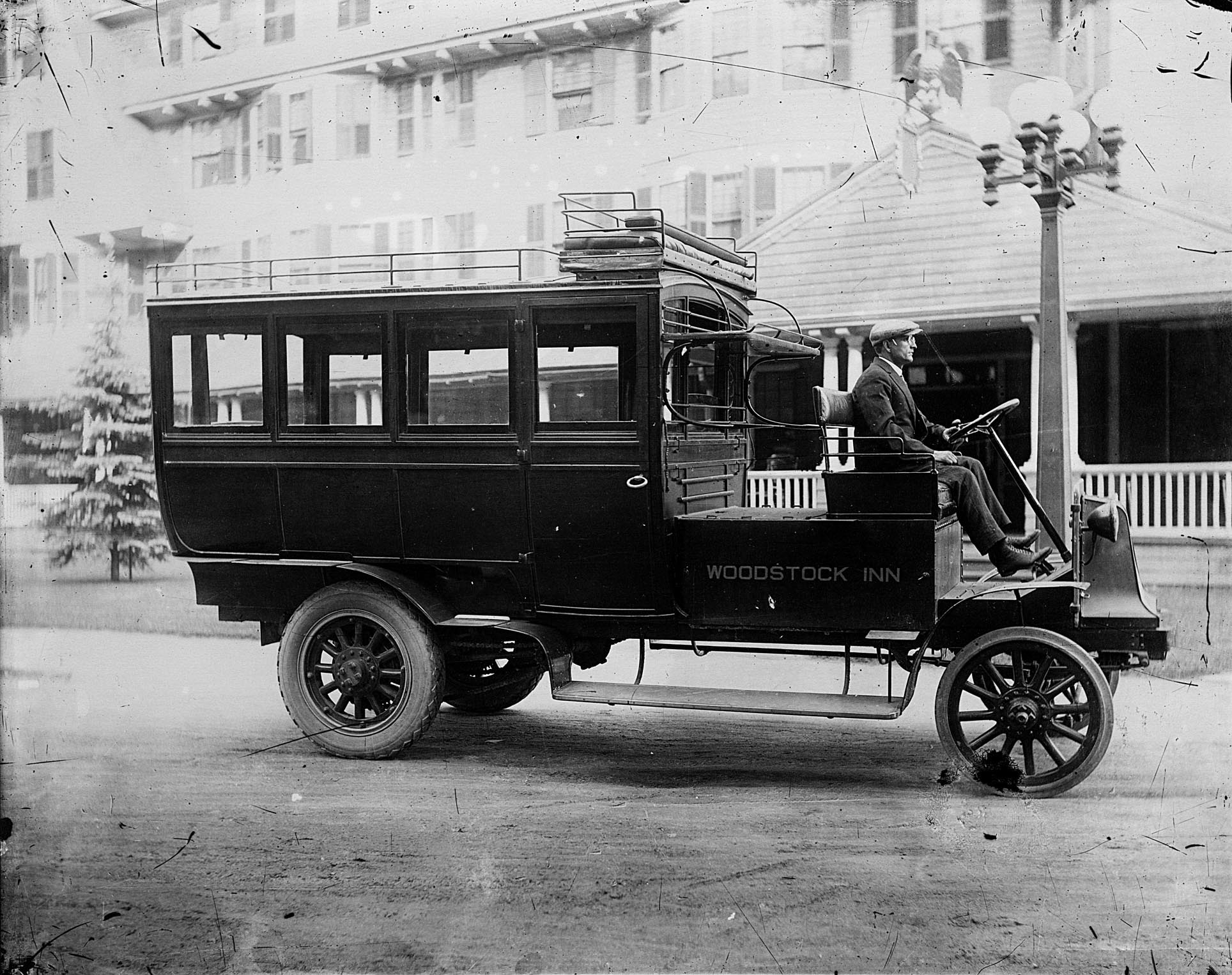 The Woodstock Inn Electric Bus - George Goodrow, Sr., Driver