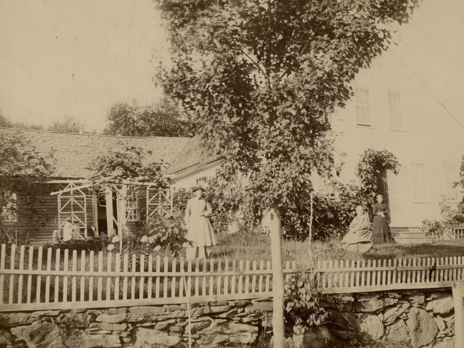 The Briggs home where Marenda was born and raised