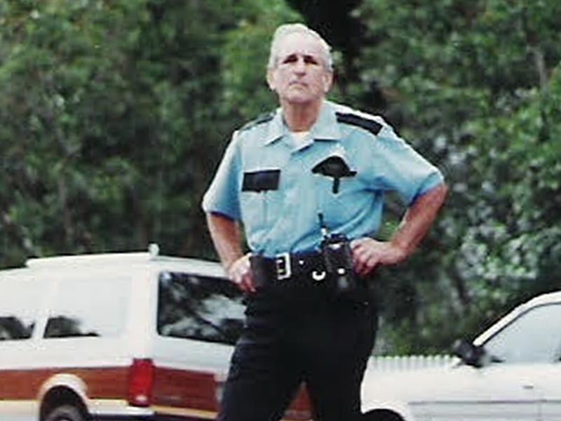 Paul on duty.