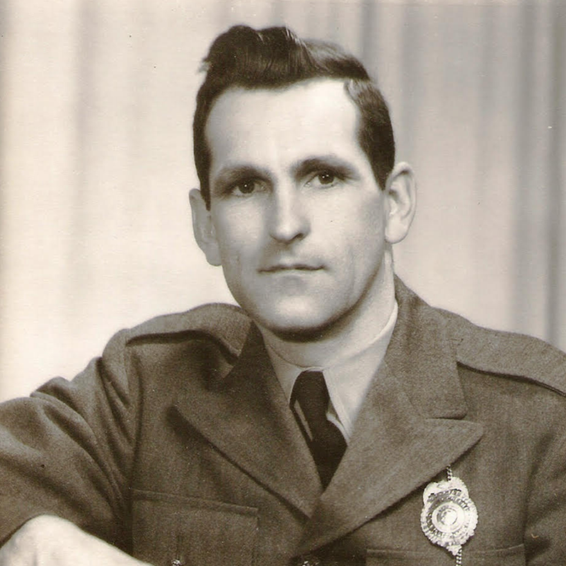 Paul as a young officer.