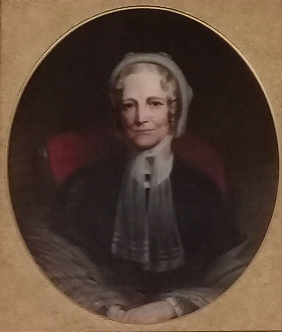 Mary Ann Williams. Portrait at the Norman Williams Public Library.