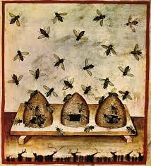 Beekeeping in the 14th century