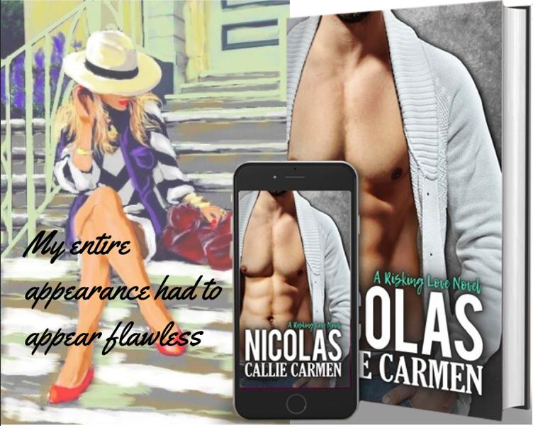 Nicolas (Risking Love Book2)   https://amzn.to/2GkldCD     books2read.com/u/mqVGQv