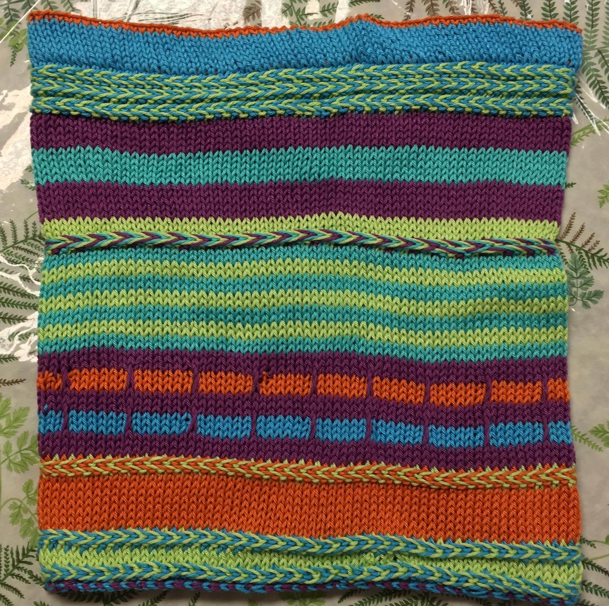 Yipes Stripe Cowl - Pima Yarn
