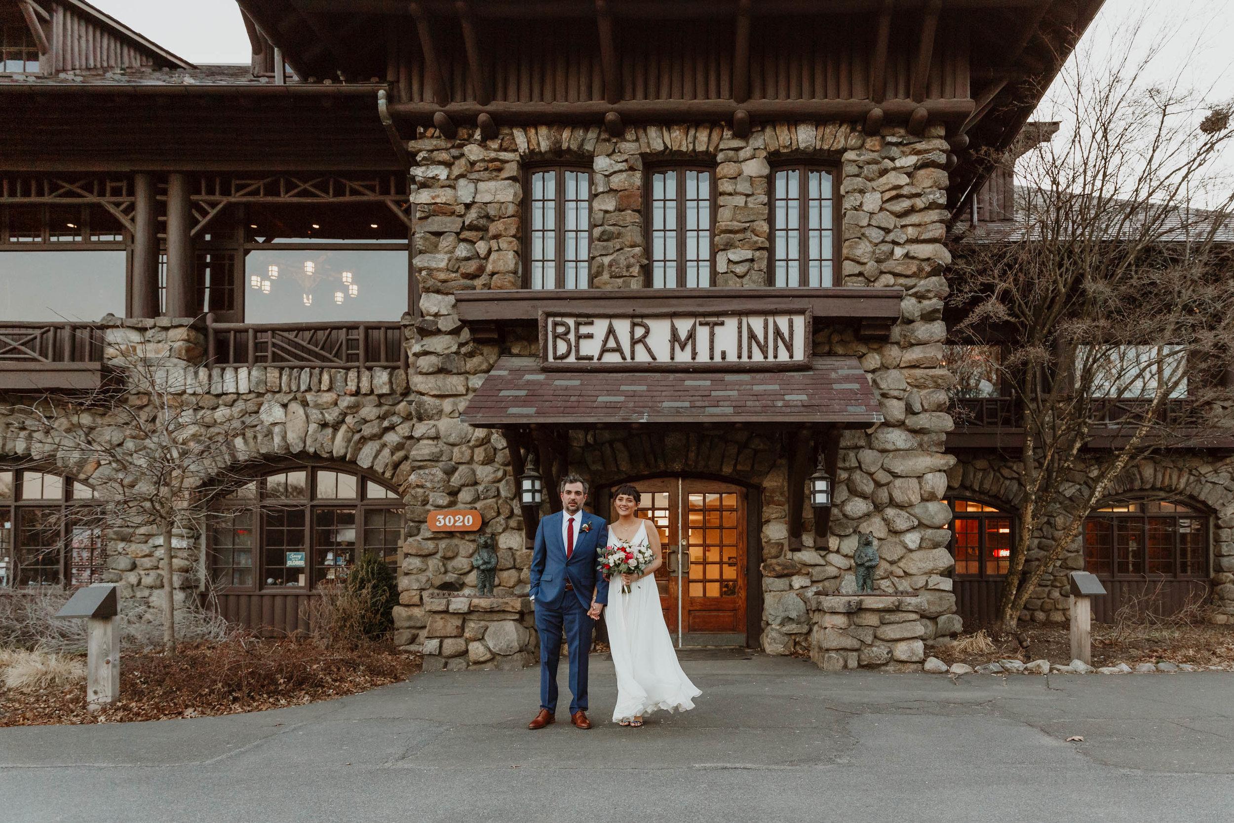 Bear Mountain Inn Rustic wedding photographer elizabeth tsung photo
