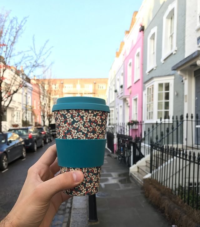 The @libertylondon 4th bamboo cup design! ❤