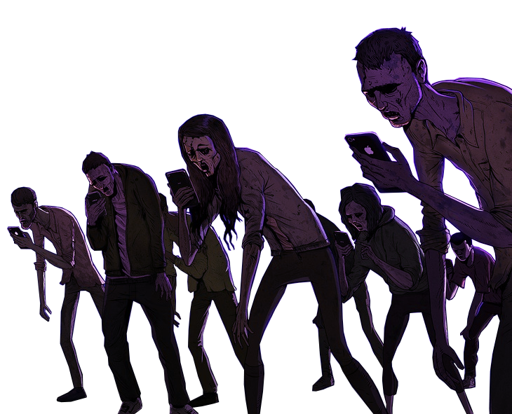 The Problem - The phone zombie apocalypse is here!