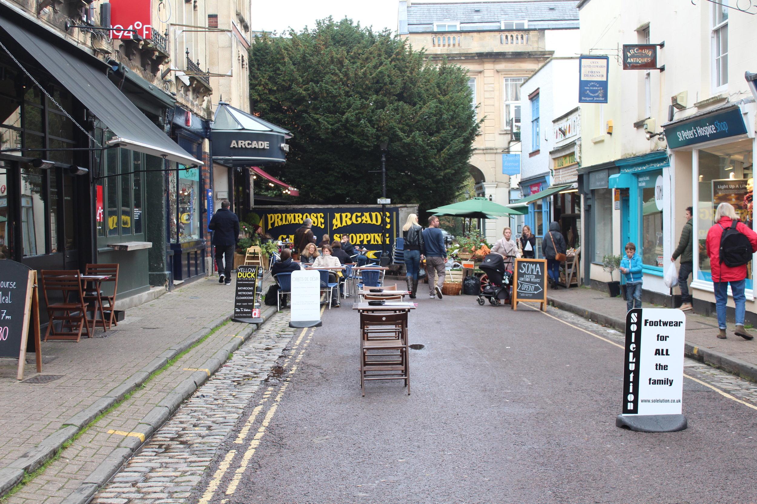 A little Clifton side street