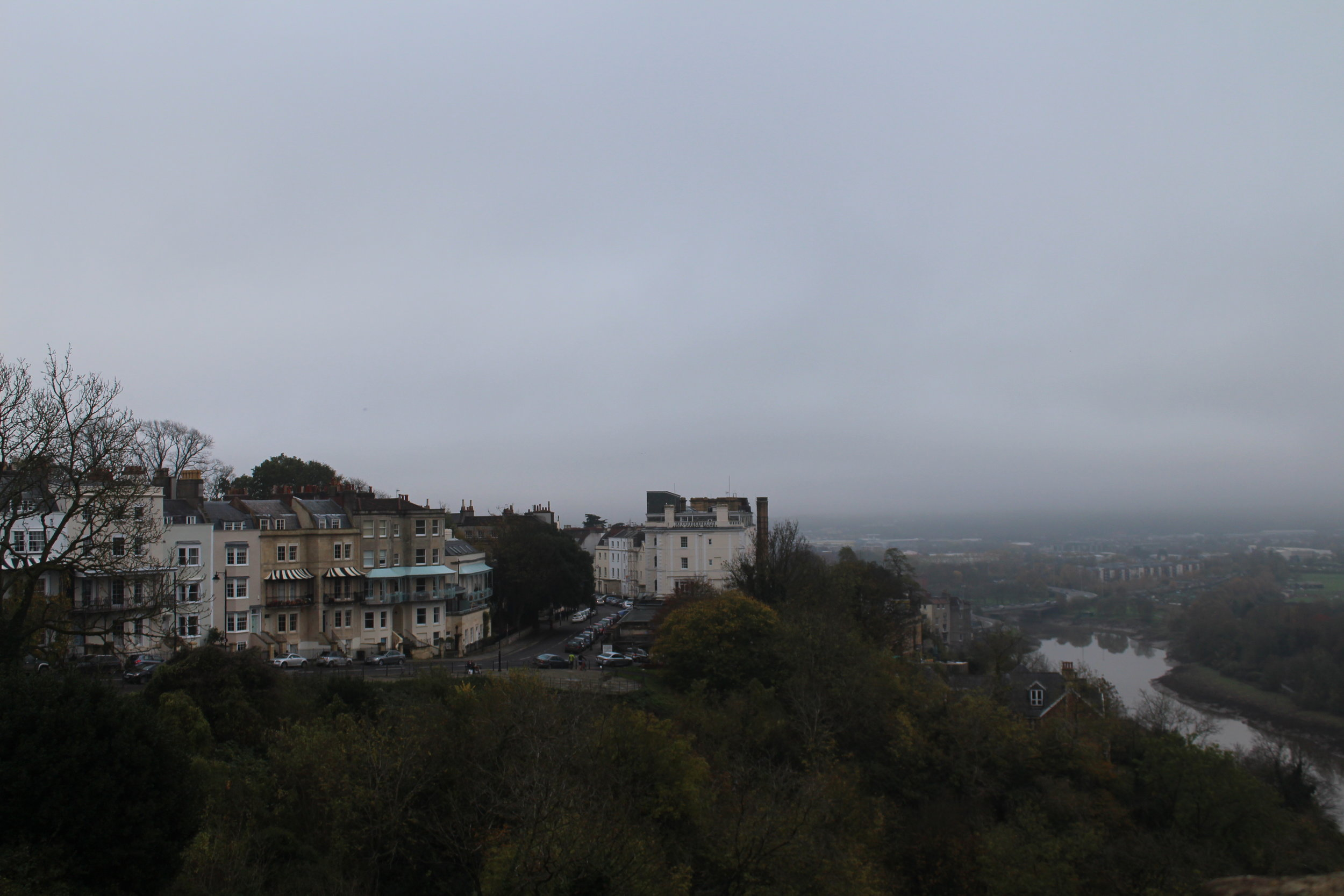 A gloomy Bristol postcard