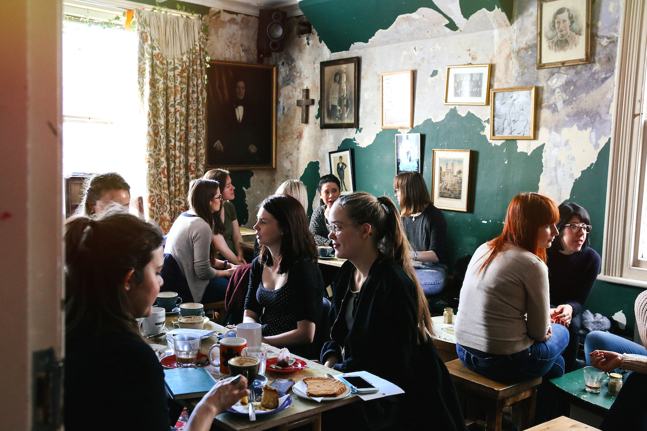Taken at the Brighton Girl Coffee Meet Up, by Lucie McAdams