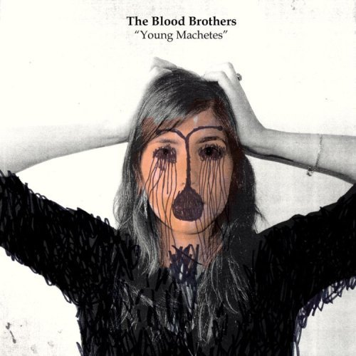 """THE BLOOD BROTHERS  """"YOUNG MACHETES"""" LP  (GUITAR)"""