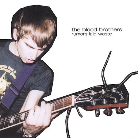 """THE BLOOD BROTHERS  """"RUMORS LAID WASTE"""" EP  (GUITAR)"""