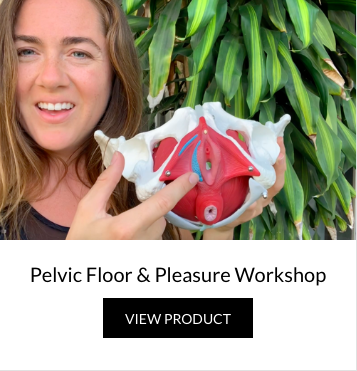 FREE - Health education + Yoga WorkshopThings that every woman should know!Build awareness, strengthen, relax, and connect to this important muscle group- so you can experience more pleasure in & out of the bedroom.