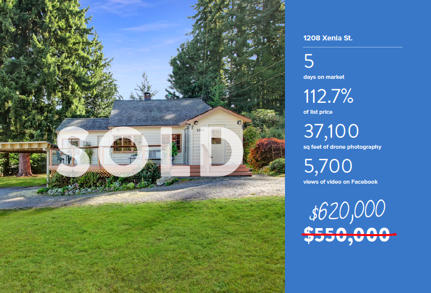 Sold in Whatcom Falls