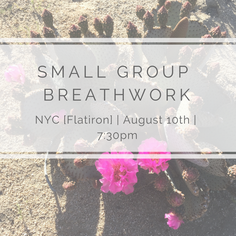 - When: Friday, August 10th, 7:30-9:00pmWhere: NYC [Flatiron - exact address provided upon signing up]Exchange: $50[First time working with me? Enter code FIRSTTIME at check out for 40% off!]